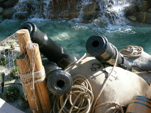 pirate cannons for rent from Pirates for Parties