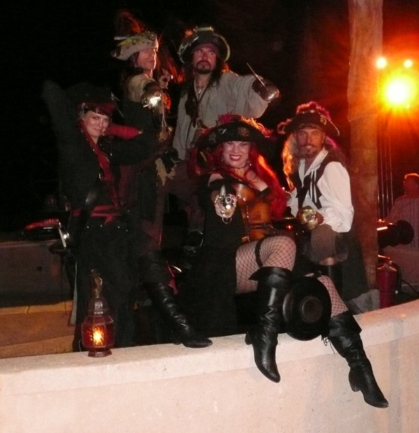 pirates at a pirate party
