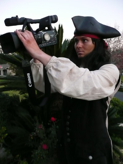 pirate videographer - pirate photographer