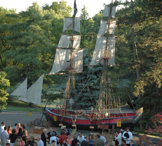 pirate ship for rent